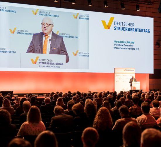 Deutscher Steuerberatertag: Auch 2018 wieder der bedeutendste Treffpunkt der deutschen Steuerberater-Branche.